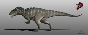 Carcharodontosaurus by Manuelsaurus
