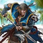 pirate Helbard by Baldraven