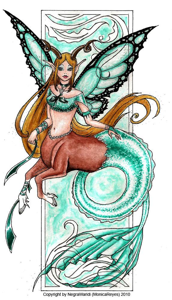 Strange fairy by NegraWaridi