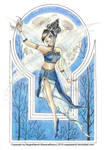 Moon fairy by NegraWaridi