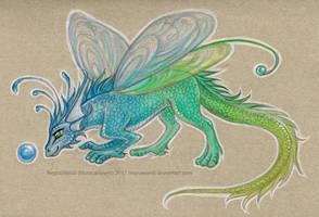 Fairy dragon by NegraWaridi