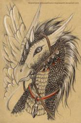 Warrior gryphon by NegraWaridi
