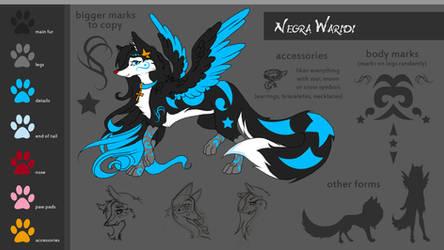 Negra Waridi - Character sheet by NegraWaridi