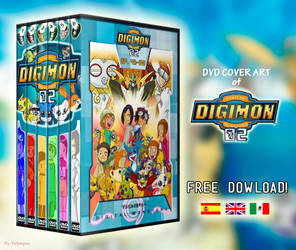 Digimon Adventure 02 - DVD Box Set by CoversOfFelympus