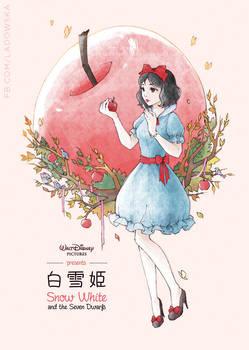 Anime Snow White by Ladowska