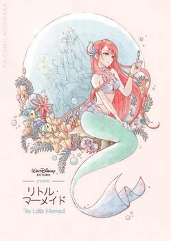 Little Mermaid anime! by Ladowska