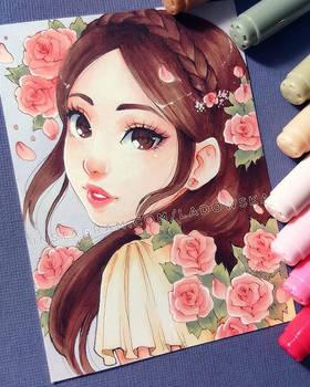 Rose by Ladowska