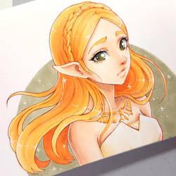 Zelda by Ladowska