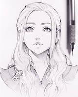 Daenerys by Ladowska