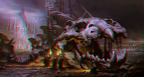 Fish anaglyphe rouge cyan by Fan2Relief3D