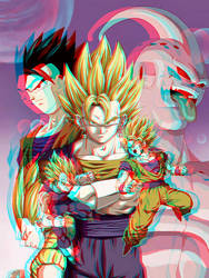 Dragon Ball Z Conversion 3D by Fan2Relief3D