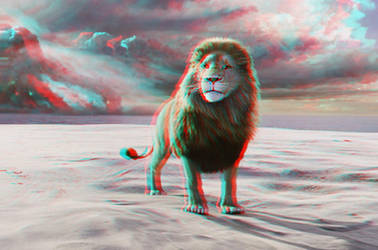 Aslan Narnia Conversion 3D by Fan2Relief3D