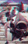 john william waterhouse Conversion 3D by Fan2Relief3D