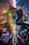 Marvel Comics Conversion 3D by Fan2Relief3D