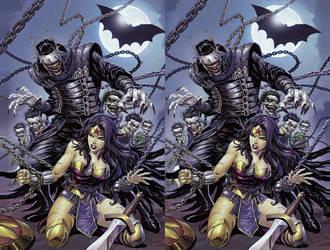 Dark Nights Metal DC Cross View 3D by Fan2Relief3D