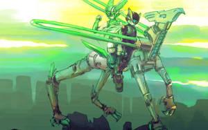 Rockman Zero 2 -to TEATEA by hj