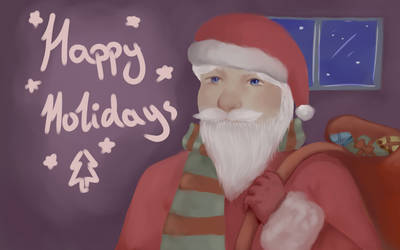 Happy Holidays by ShockedBerry