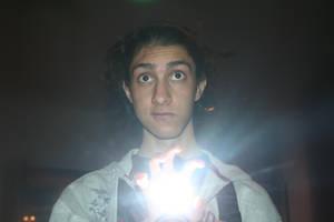 Beam of Light - Hand by Ph0Xy