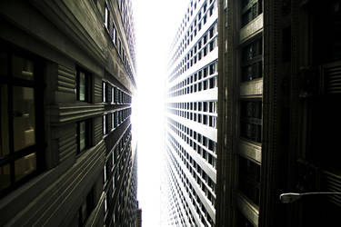 New York - Tall Buildings by Ph0Xy