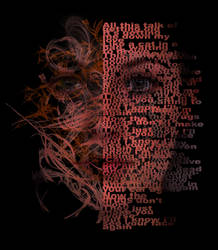 Face Typography by DannyKelly