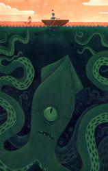 Squid by dsantat
