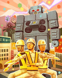 Beastie Boys 'Intergalactic' by dsantat