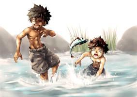 fisherboy by 8sxpx