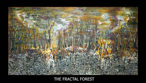 The Fractal Forest by hhisim