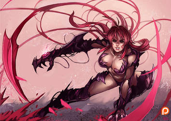 PT : Witchblade !!! by kachima