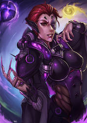 Moira Overwatch by kachima
