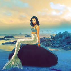 Naya Rivera Mermaid by AshleiCatastrophe