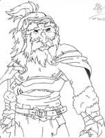 DragonArt - Dwarf by Konack1