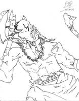 DragonArt - Orc by Konack1