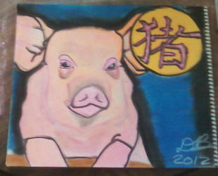 The Pig - Chinese Zodiac by Konack1