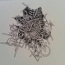sketchbook doodle by Joeadrianart