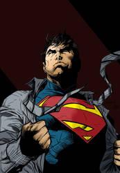 Superman Jim lee by Joeadrianart