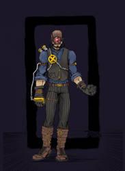 Steam punk  cyclops by Joeadrianart