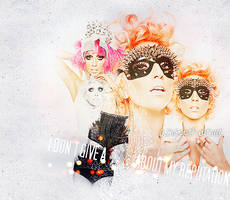 lady gaga by lou-mora