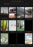 2018 Summary Of Art by Cats-Are-Purrfect