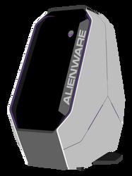 Minimalistic Alienware Area 51 by SoulxMystique