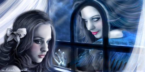 My Evil Self-Halloween Contest by lochnessa2