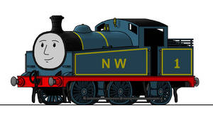 Reverend Wilbert Awdry's Thomas the Tank Engine by 01Salty