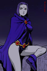 Raven by NoneKA