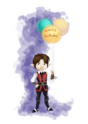 happy birthday by vanlau