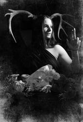 The High Priestess III by TheVenomousSwan