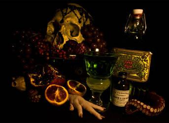 absinthe by TheVenomousSwan