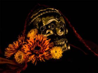 Tibetan Skull by TheVenomousSwan