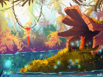 Jungle Magic by BlindFoxy