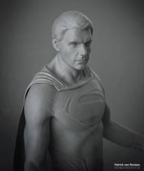 Man of Steel Sculpt by PatrickvanR