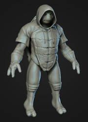 Teenage Mutant Ninja Turtle Raphael (WIP) by PatrickvanR